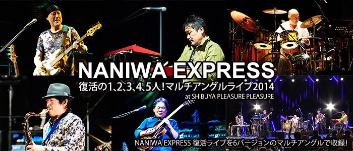 NANIWA EXPRESS 復活の1,2,3,4,5人! マルチアングルライブ2014 at SHIBUYA PLEASURE PLEASURE (DVD2枚組)